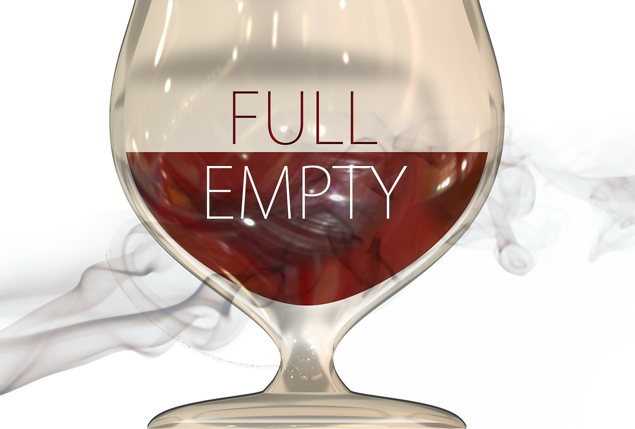 A half full or half empty glass? Digital smoke can make it hard to tell.